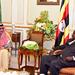 Museveni meets Saudi Arabia's crown prince