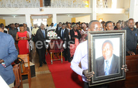 Christopher Henry Azuba  hailed at funeral service