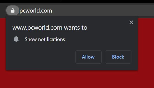 How to stop website notifications in Chrome
