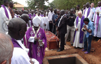 Italian priest granted wish to be buried in Kitgum