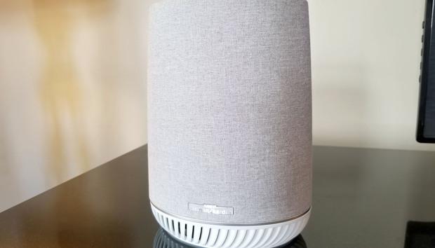 Netgear Orbi Voice is a hybrid mesh Wi-Fi access point and Alexa-powered smart speaker
