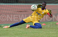 Vipers' goalkeeper Watenga named star of the month