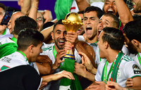 Algeria sink Senegal to claim second Africa Cup of Nations