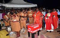 Security forces grace Uganda Martyrs novena prayers