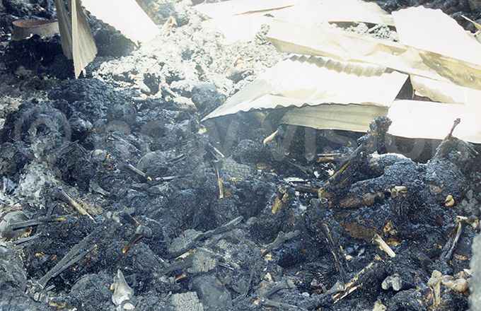 he remains of the victims among the rubble after almost 800 people were set ablaze ile hoto