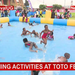 The joy of swimming at Toto festival