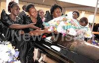 Zzimwe's son laid to rest in Mukono