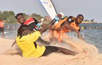 St Lawrence go top of the beach soccer League