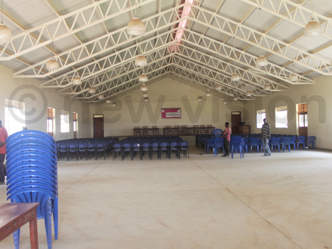 n interior view of the new multipurpose hall