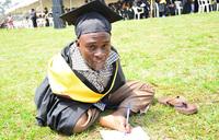 Byaruhanga beats all odds to graduate