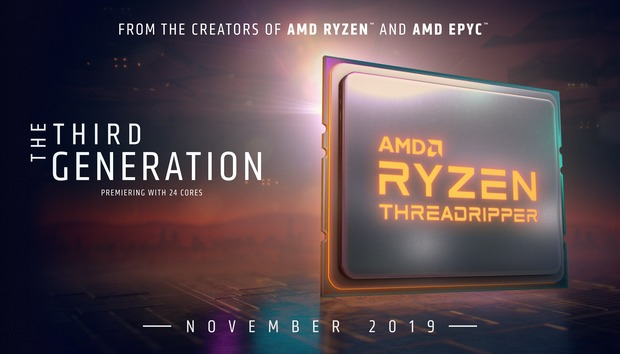 AMD announces third-gen Threadripper, but confirms supply issues and delays Ryzen 3950X