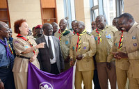 Museveni applauds scouting movement