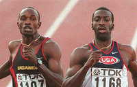 How Davis Kamoga won an Olympic medal
