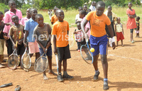89 kids attend clinics as Bunyoro embraces tennis