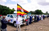Museveni flags off 25 more cars donated to the COVID-19 Fund