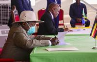 Uganda and Tanzania sign key oil pipeline agreement