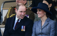 Prince William and Kate visit Paris 20 years after Diana's death