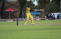 Ismail Munir powers Baby Cricket Cranes closer to World Cup