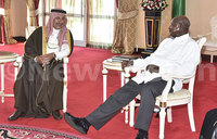 What Museveni and Saudi prince discussed
