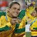 Thieves steal, then return, footballer's medal