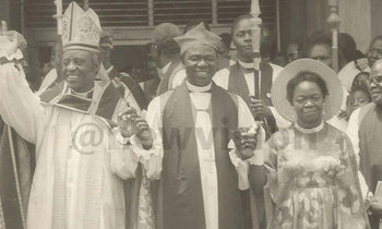 Archbishop janan luwum pictured in 1976 after consecrating the second african bishop john wasikye left of mbale diocese at st 350x210