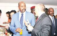 Italian envoy hosts Ugandans to National Day