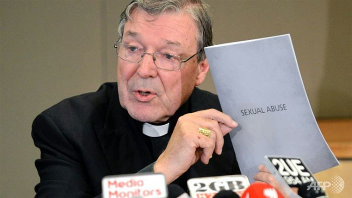 ustralian ardinal eorge ell admitted the atholic hurch mucked up in dealing with paedophile priests oslan ahman