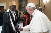 Mubaje lauds Pope for condemning Muslim persecution