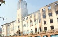 Makerere Fire: Six captured on CCTV entering building