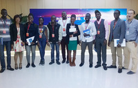 Ugandan students tour Huawei head office in China