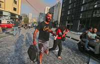'Deaths and hundreds wounded' in Beirut blasts