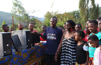 Kabale orphanage receives computers