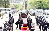 MPs pay tribute to Nyombi