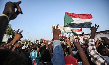Sudan protestors 350x210