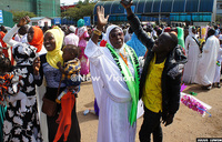 Jubilation as Ugandan pilgrims return from Mecca