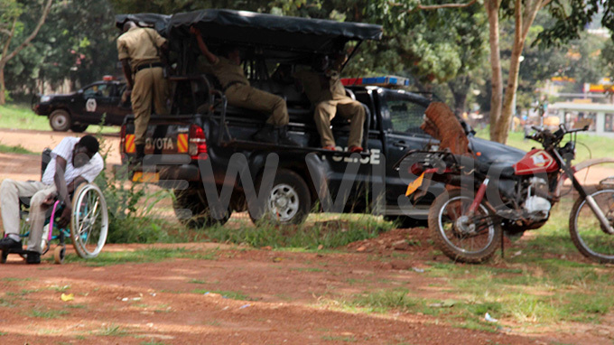 olice deploy at ayors garden in ira on hursday