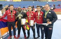 Mubiru is World Powerlifting Champion