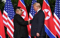 Trump says 'a lot of progress' made in historic Kim meeting