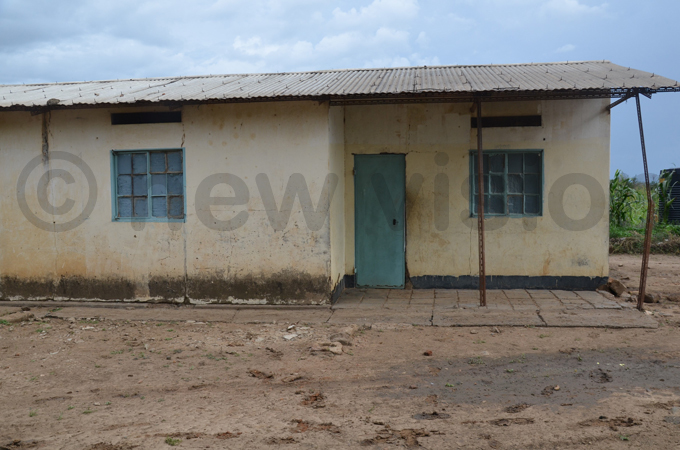ome of the old teachers houses at the school hoto by loria akajubi