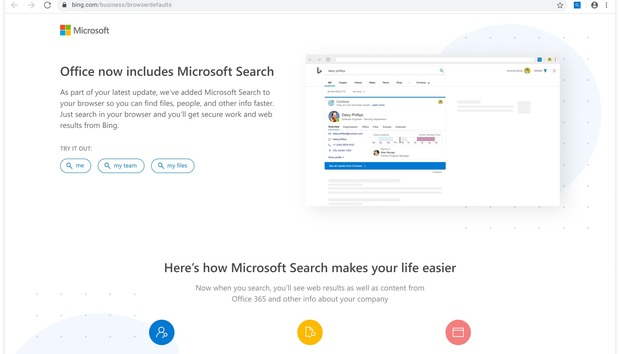 Microsoft's Office 365 for enterprises will switch Chrome search to Bing, unless you do this
