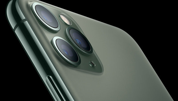 Hurry and order your iPhone 11 Pro in Midnight Green because they're selling fast