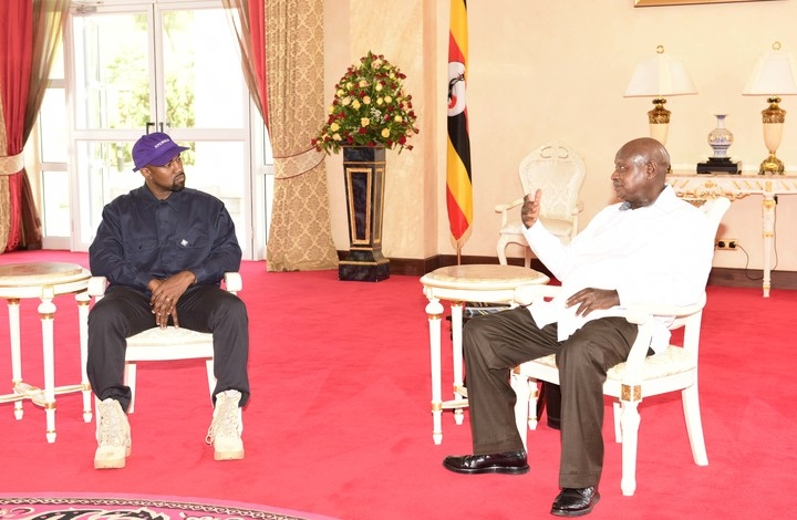 Kanye West holding discussions with Museveni
