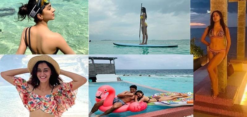 Celebrity Traveling - इन एक्ट्रेस के लिए फेवरेट स्पॉट है मालदीव, बिकनी में दिए है गजब के पोज