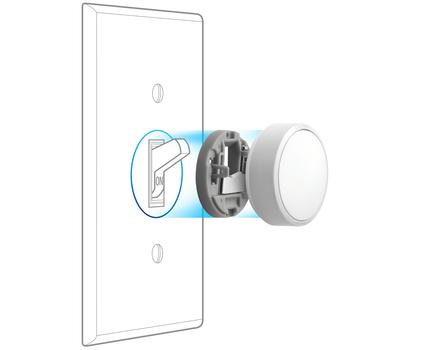 The Lutron Aurora handily solves the smart bulb, dumb switch predicament