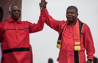 Angola rivalry as veteran Dos Santos casts long shadow