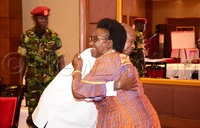 Cecilia's long presidential hug
