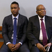 Zuma's son says he's a victim of South African political 'storm'