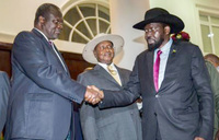 S.Sudan rebel chief approves peace deal with rival Kiir