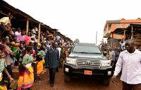 Museveni tours projects in Kampala, Wakiso
