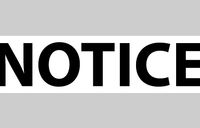 Notice from UNOPS